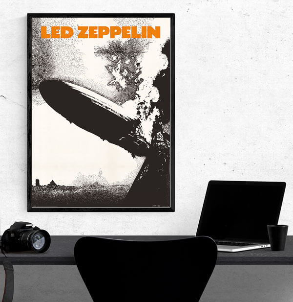 Led Zeppelin - plakat